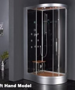 curved shower