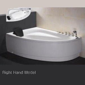 curved bath