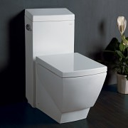 fully skirted toilet