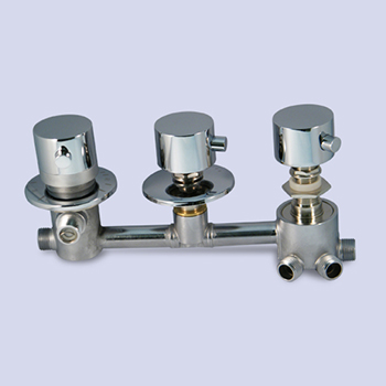 ESS176 5way thermostatic faucet set